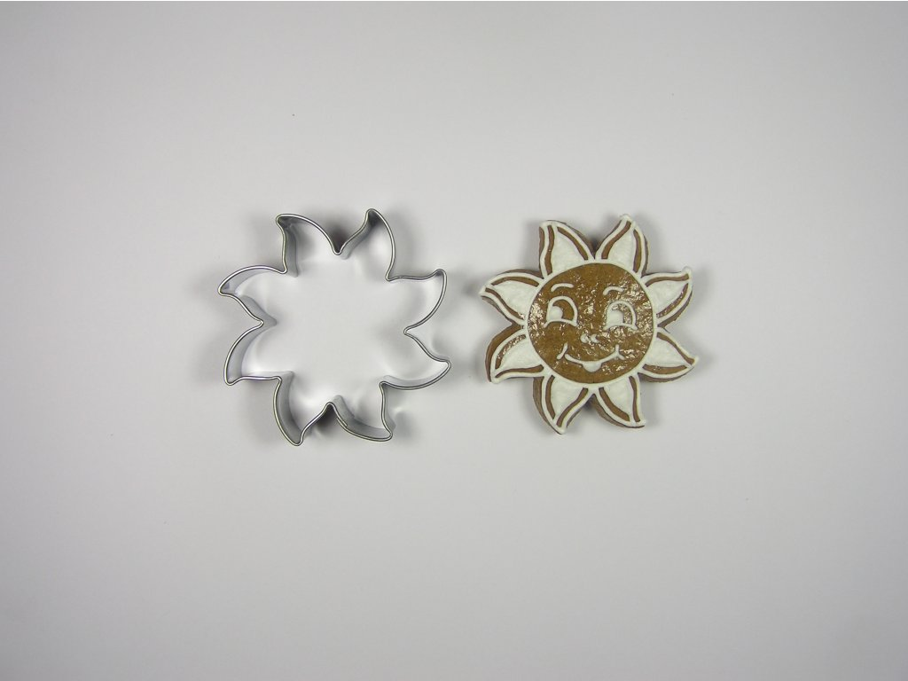 0078 Sluníčko č.2 (5,5cm) perníček formička