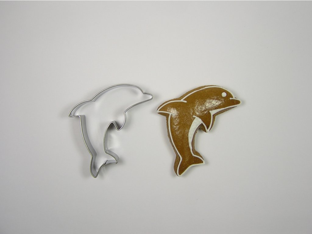 0081 Delfín perníček formička