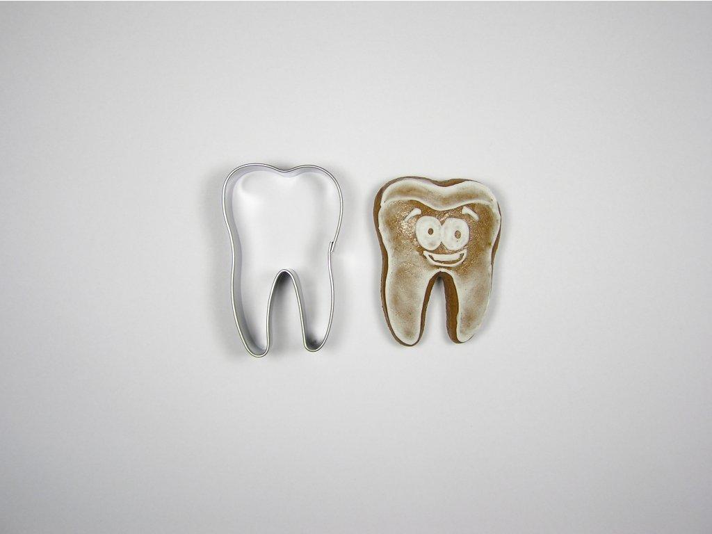 0109 Zub perníček formička