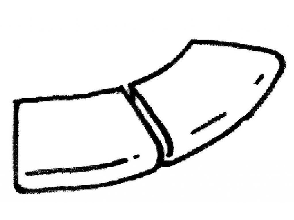 Dlažba Sahara - rohová dlaždice R 610 ext., 2 ks