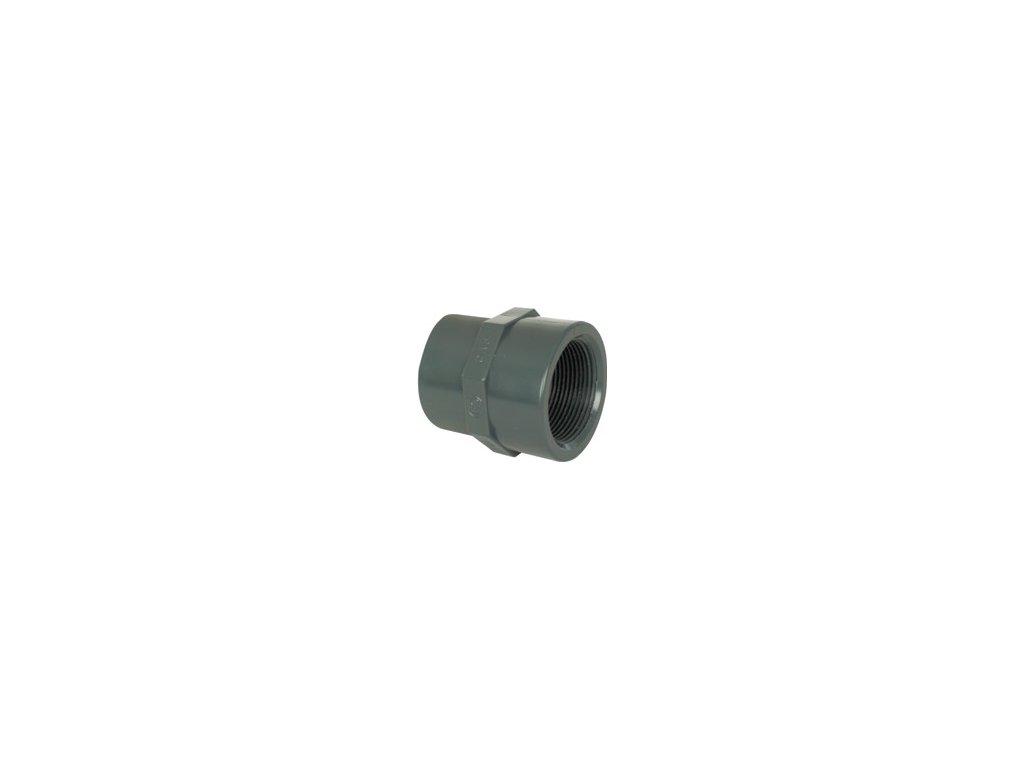 """PVC mufna – přechodka redukce lepení / šroubení (: 110–90 x 3"""")"""