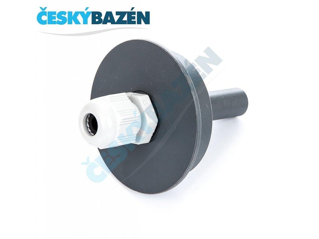 PVC tvarovka - Přechodka-PUK (: 50/Pg13,5 s vývodkou)