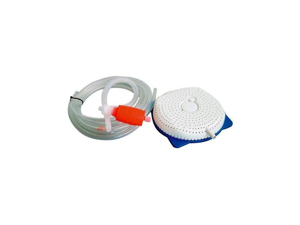 Sifon a vysoušeč pro zimní krycí plachty, vč. 5 m hadičky