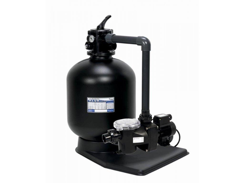 Filtrační zařízení Azur KIT 560 12m3hod 1 FF propojovací potrubí