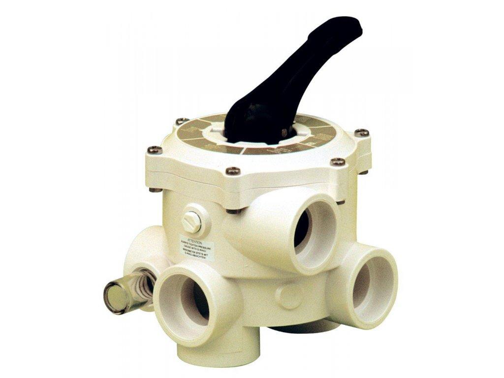 Ventil SIDE – 6 ti cestný ventil – III vývody 50 mm (Praher)