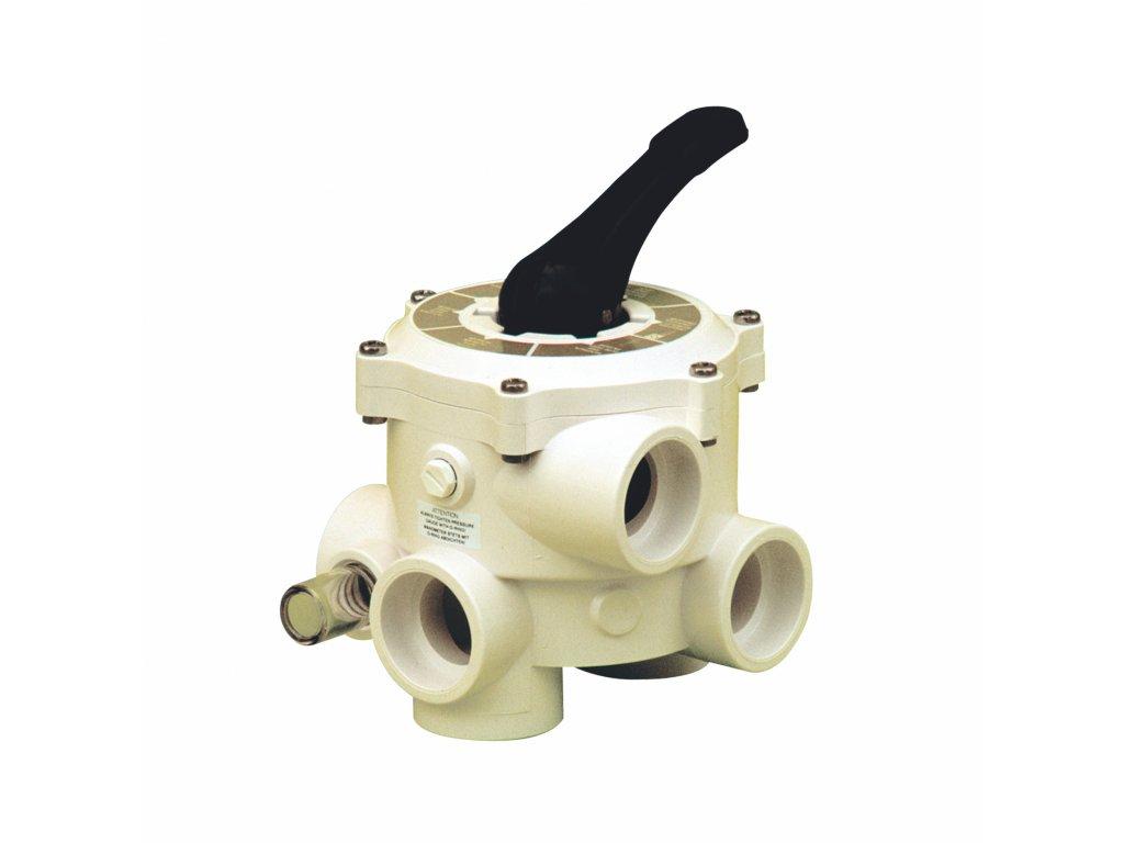 """Ventil SIDE – 6 ti cestný ventil – III vývody 1 a 0c5"""" (Praher)"""