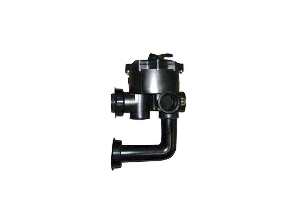 DE křemelinový filtr Boční 6 ti cestný ventil pro filtr QUAD