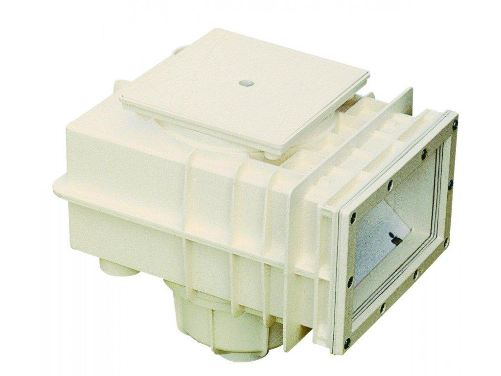 SKIMMER V20 ABS do fólie, 200 x 150 mm, s mosaznými zástřiky 1