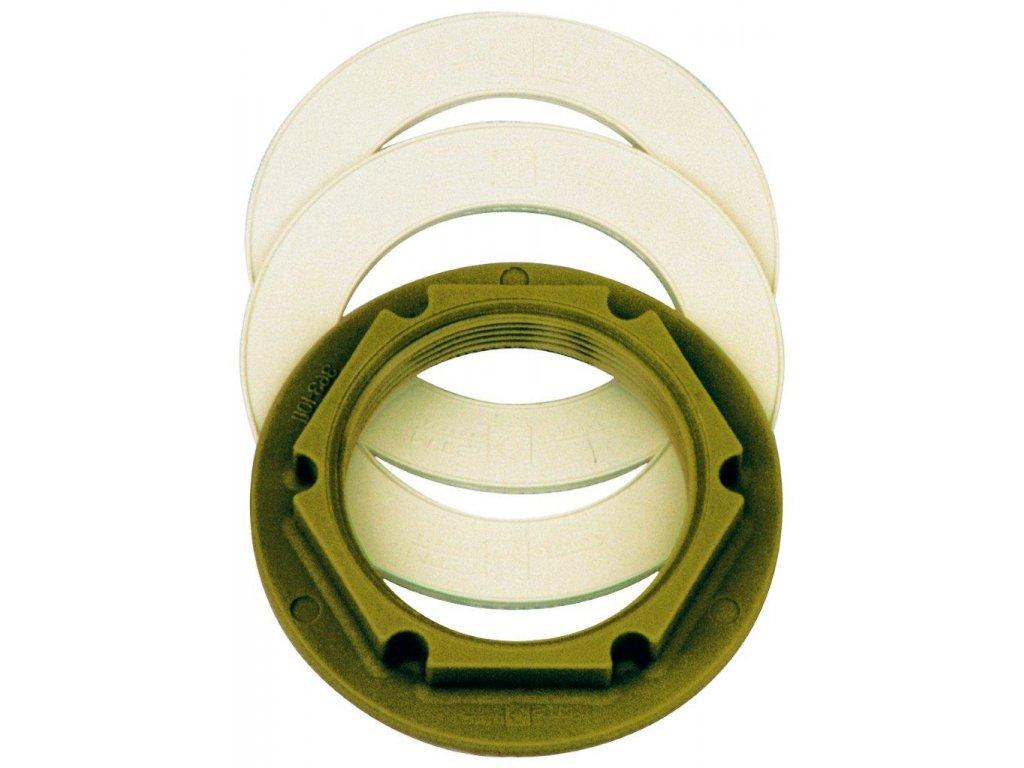 Příslušenství MTS Kontramatka R 2 palce PA 6,6 + dvě těsnění EPDM.