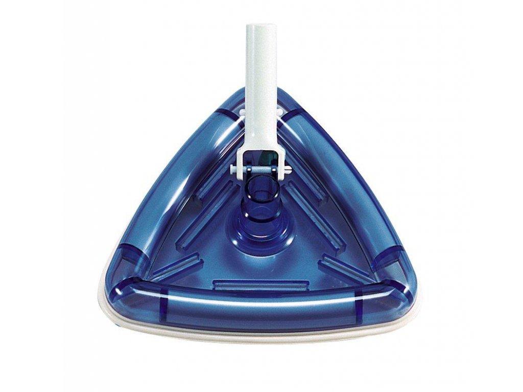 Vysavač trojúhelníkový průhledný, připojení 32 na 38 mm