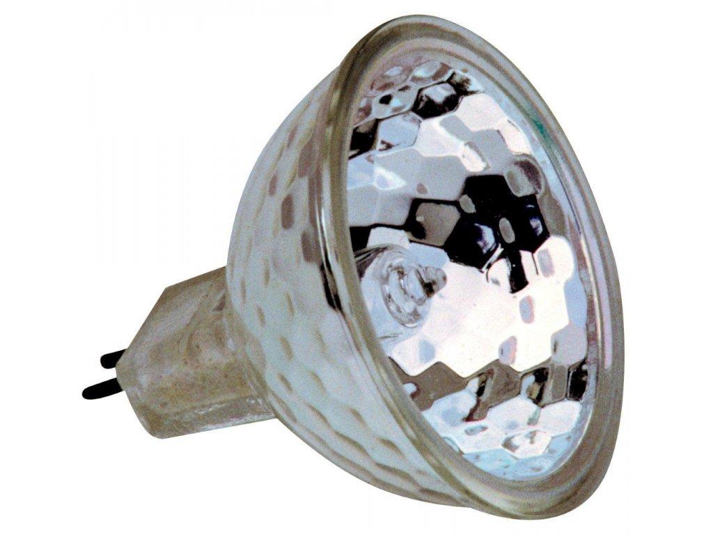 Halogenová lampa HRFG 50 W na 12 V – s čelním sklem 50 mm