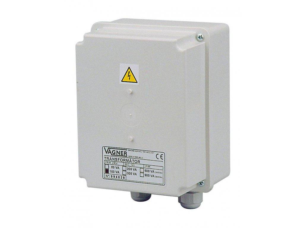 Bezpečnostní transformátor 50 W, 230 V na 12 V