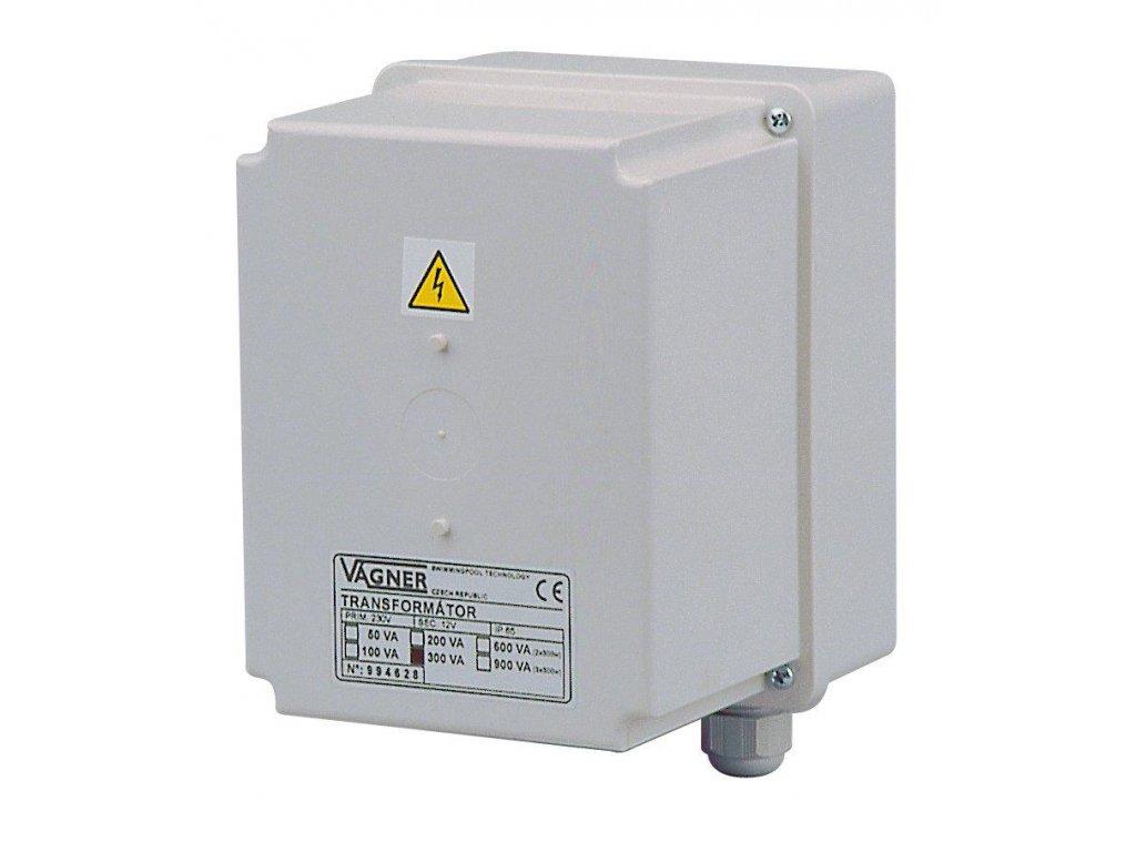 Bezpečnostní transformátor 300 W, 230 V na 12 V