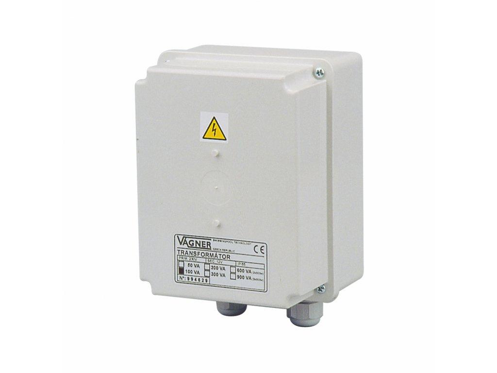 Transformátor 230 V na 12 V, 80 W