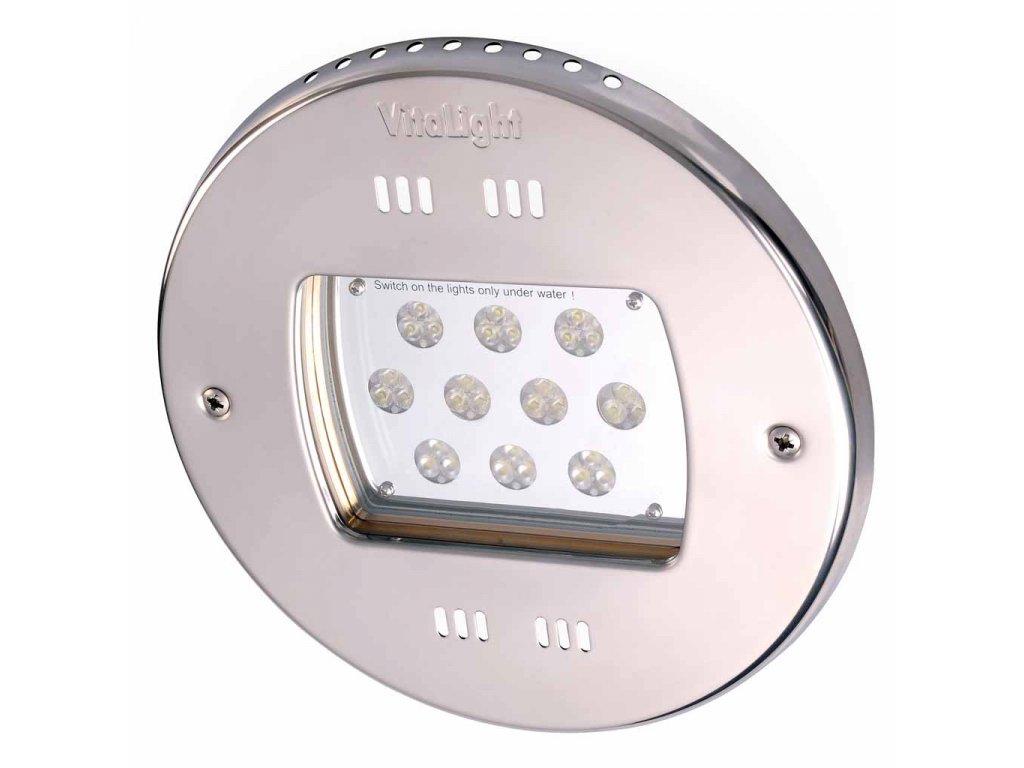 Silné LED světlo, 30 LED – 10 300 lm, 24 V, barevné – RGB