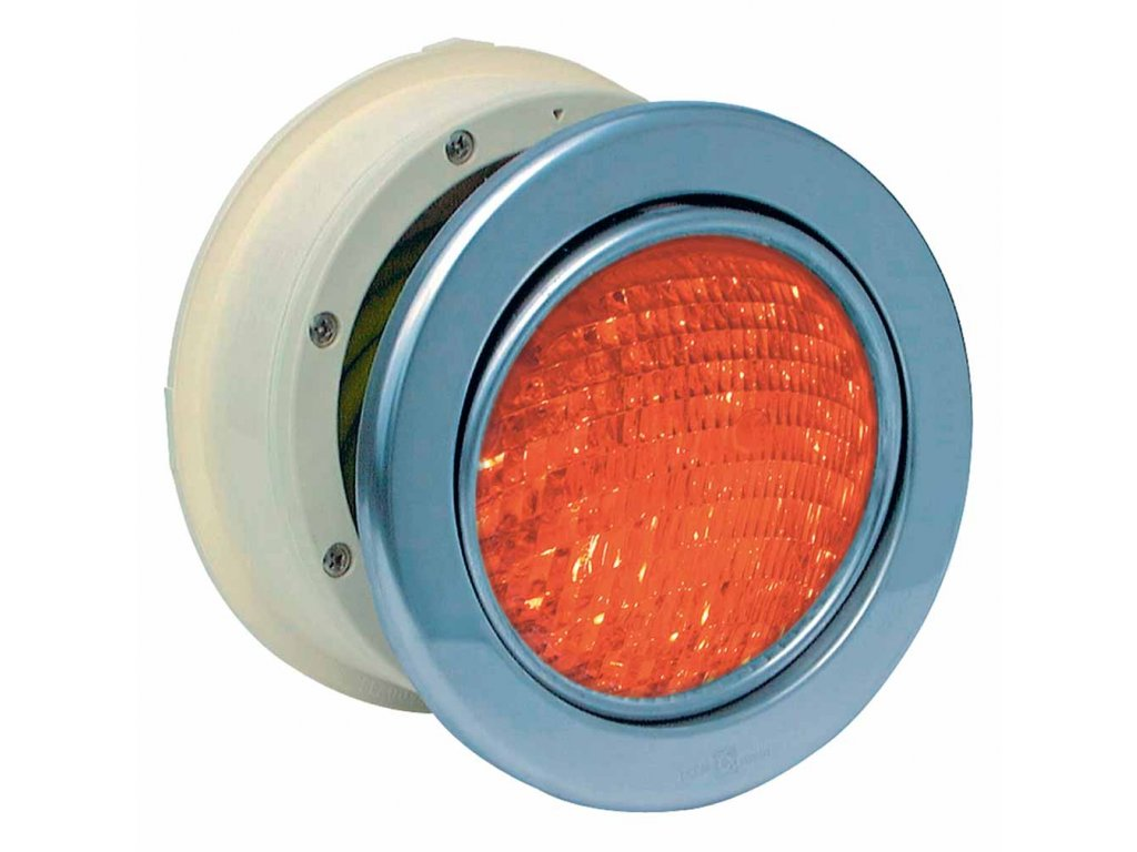 Podvodní světlomet MTS LED RGB 16W, nerez