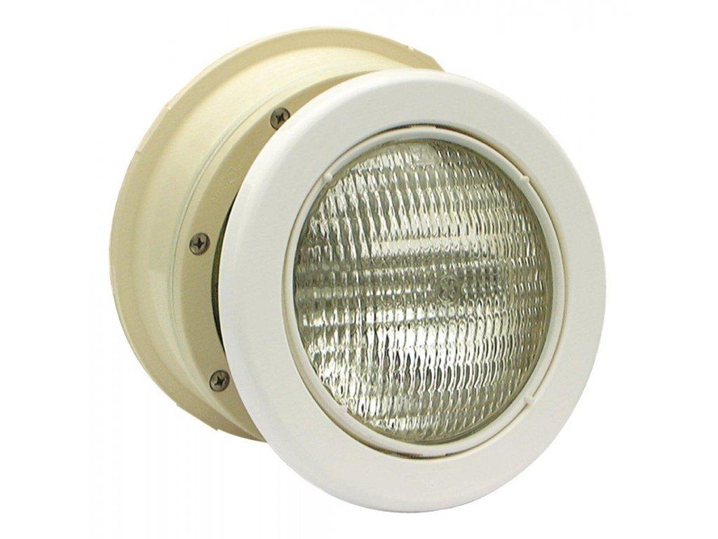 Podvodní světlomet MTS LED bílý 16W, bílý ABS plast