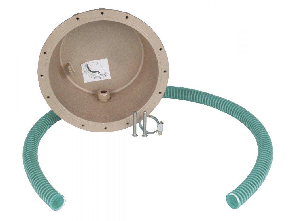 Hrnec pro světla s ochranou kabelu