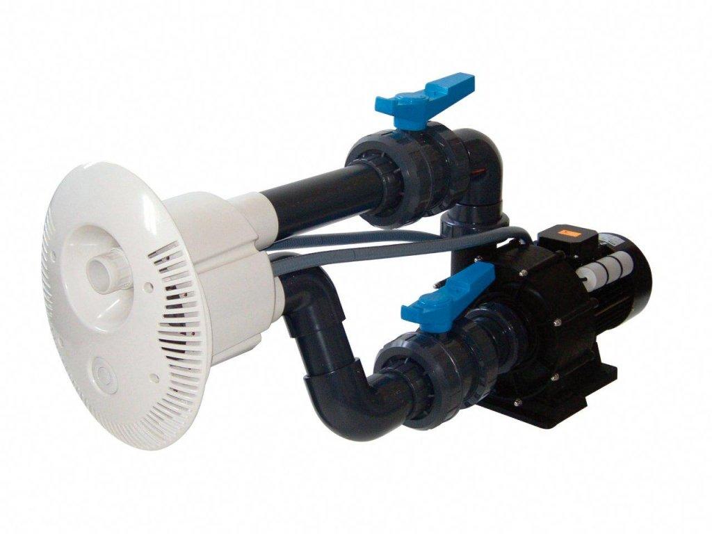 Protiproud V JET 66 m3h 1, 230 V, 2,2 kW, pro fóliové a předvyrobené baz., potrubí Ø 75 mm
