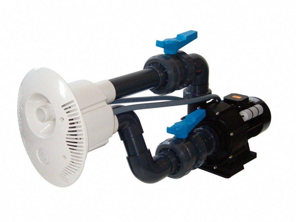 Protiproud V JET 66 m3h 1, 400 V, 2,2 kW, pro fóliové a předvyrobené baz. potrubí Ø 75 mm