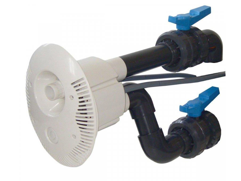 Předmontážní sestava V JET, tvarovky a potrubí Ø 75 mm