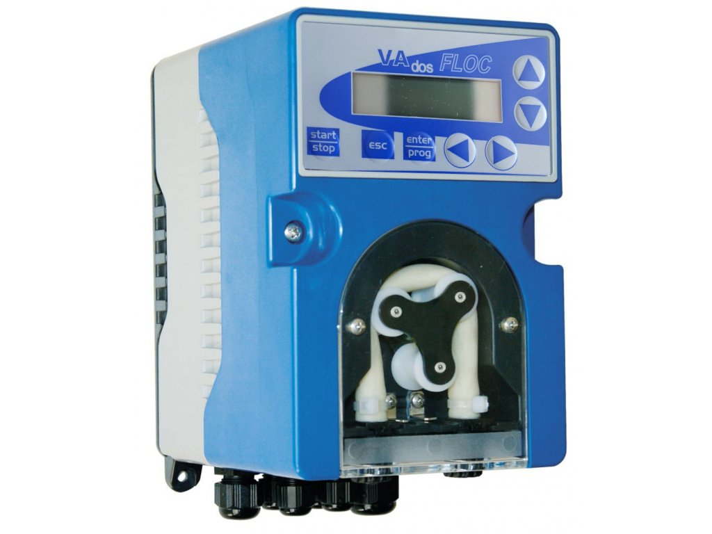 Dávkovací peristaltická pumpa VA DOS FLOC