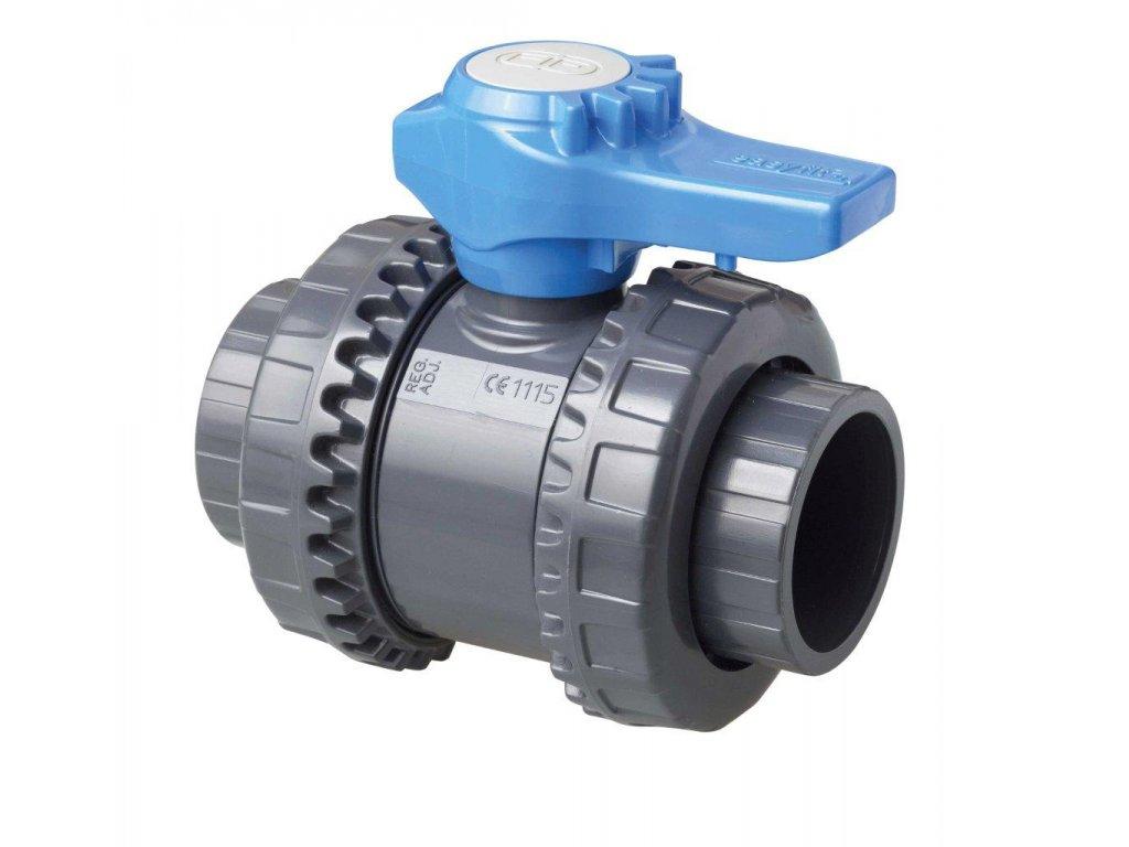 Kulový dvoucestný ventil 50 mm – Easyfit 1