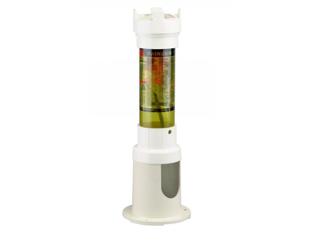 Dávkovač pev. látek hadičkový průhledný Rainbow 300 C, 2,2kg