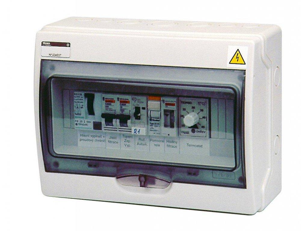5945 automaticke ovladani pro filtraci vymenik f1v