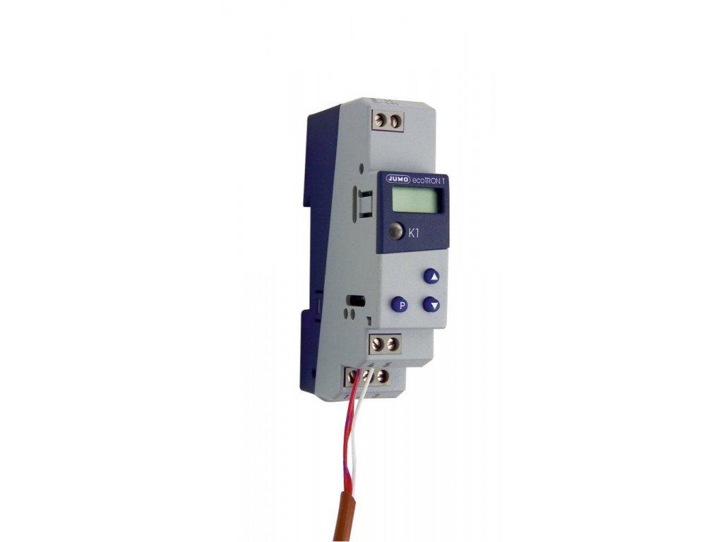 6050 digitalni termostat do el rozvadece pro din listu