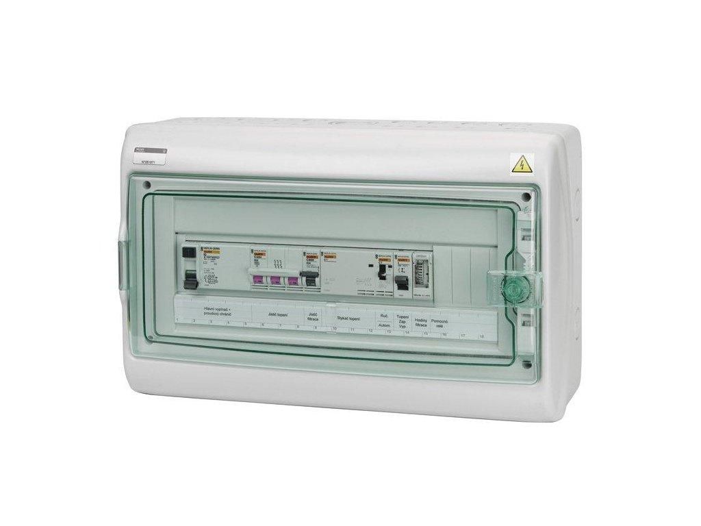 6543 automaticke ovladani pro filtraci topeni svetlo f3e18s