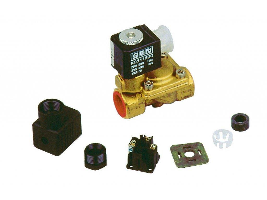 Elektronické hlídání hladiny Elektromagnetický ventil 0c5 palce