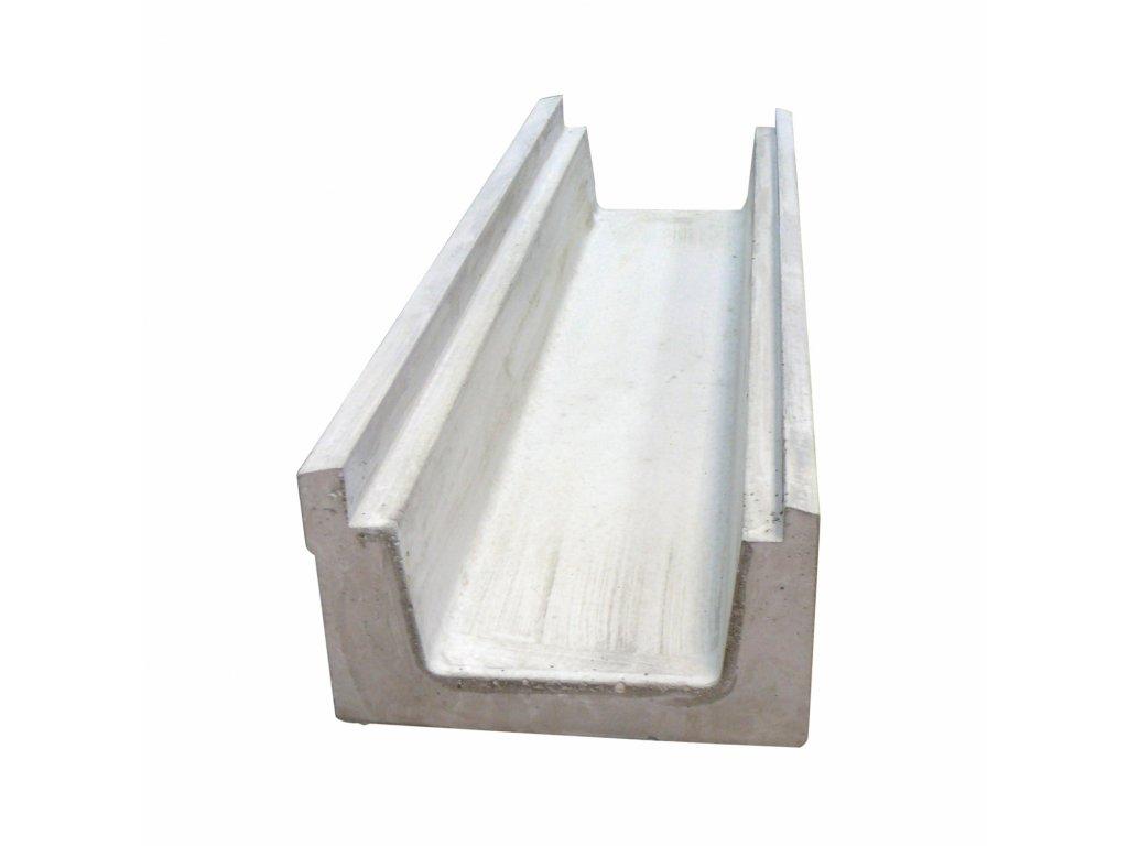 Betonový přelivový žlábek 1,0 m