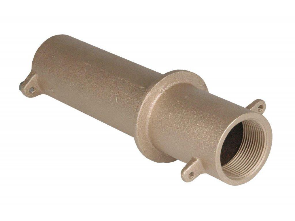 7203 pruchod stenou pro keramicke bazeny 11 2 x 11 2 delka 240 mm
