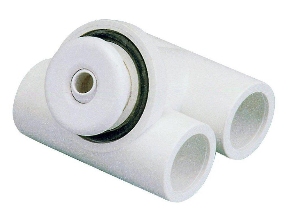 7422 hydromasazni tryska mikrotryska abs bila otvoru 12 mm