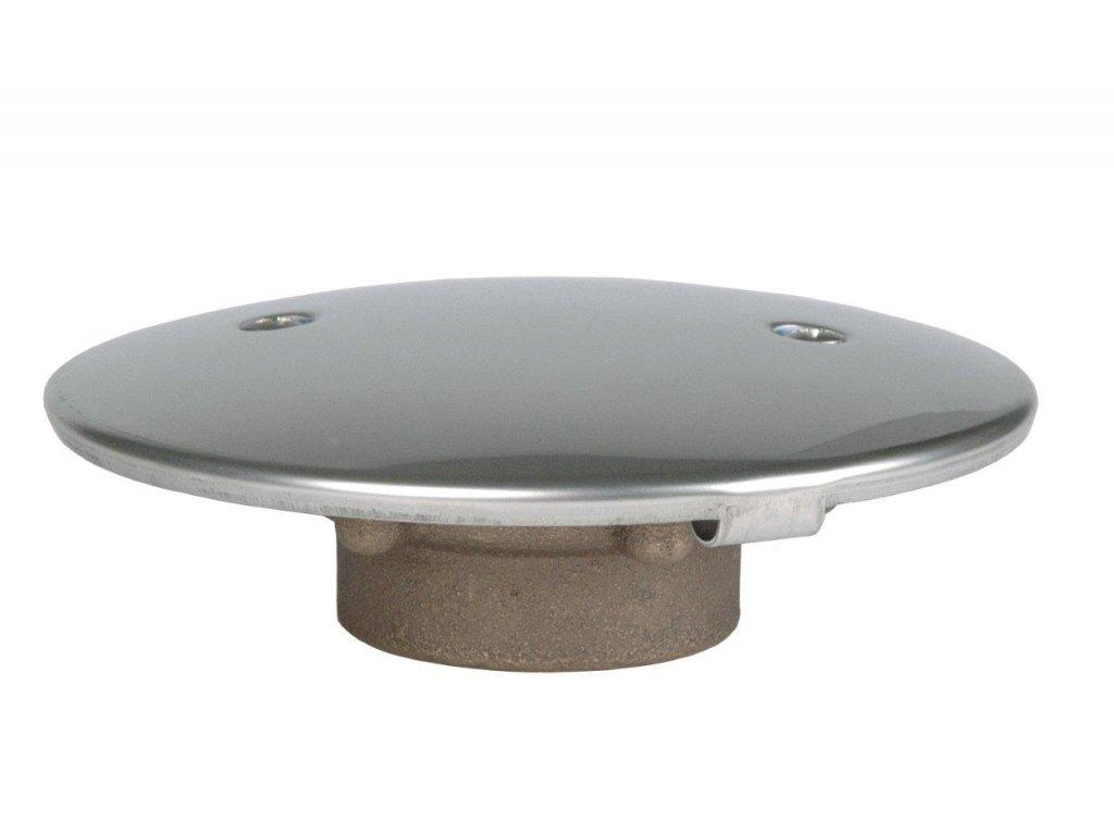 7551 podlahova vypust napojeni 2 in protivirivy kryt 168 mm