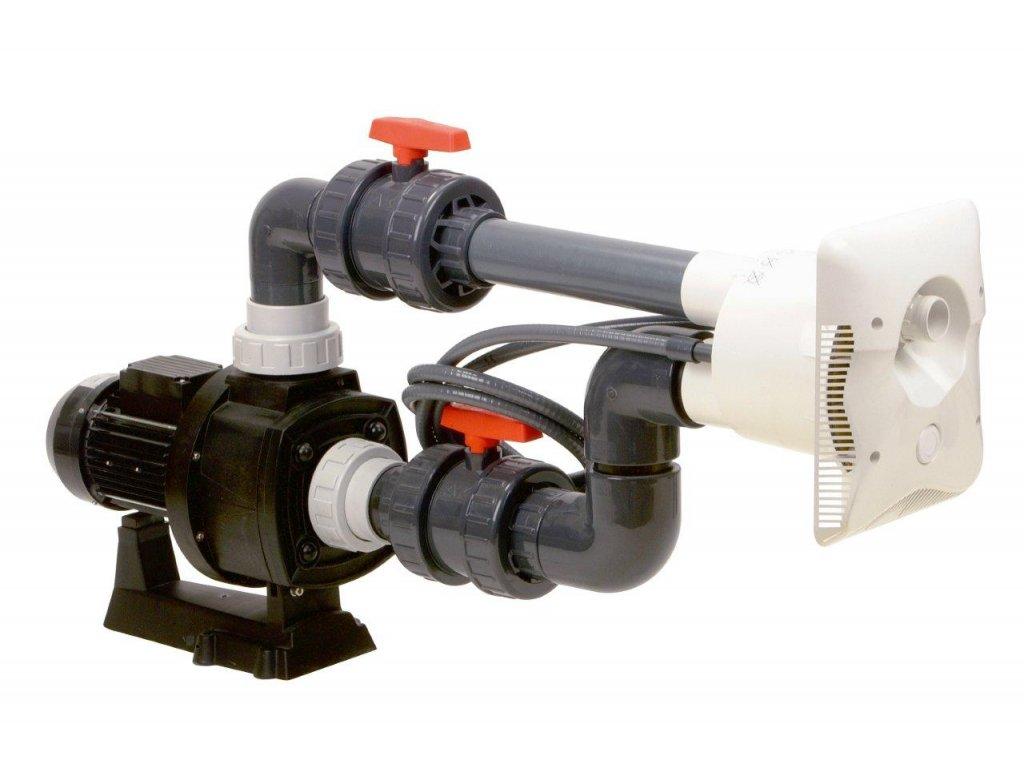 Protiproud K-JET Calipso – 84 m3/h NEWBCC 550, 400 V, 4,1 kW, pro fólii a předvyrobené baz.