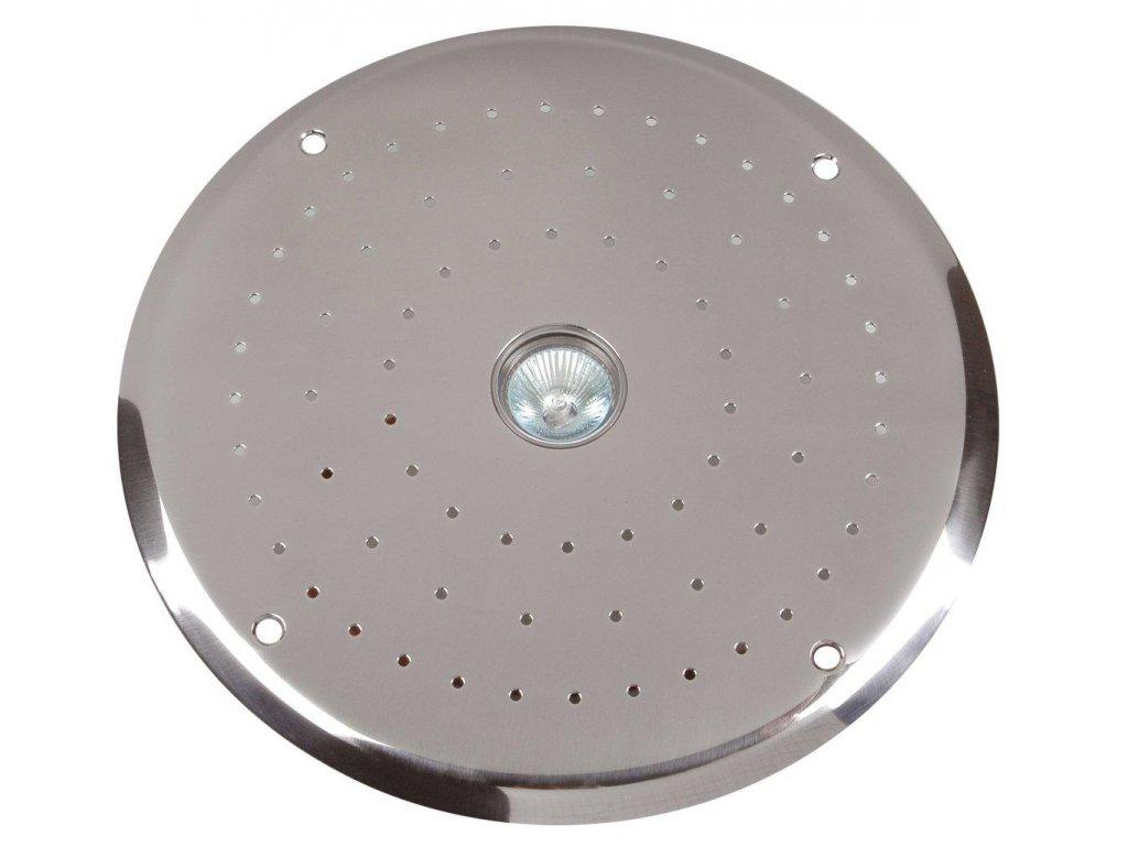 Nerez kryt vzduchové masáže se světlem 50W