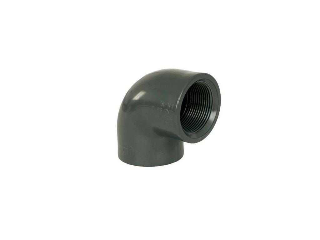 """PVC tvarovka - Úhel 90° 40 x 1 1/4"""" int."""