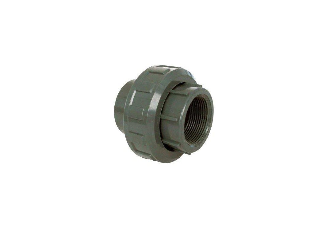 """PVC tvarovka - Šroubení 40 x 1 1/4"""" int."""