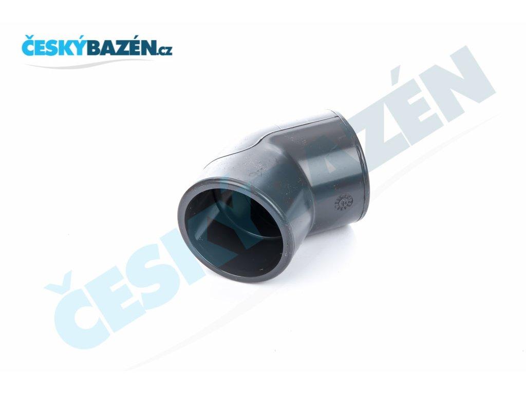 PVC úhel 45° - lepení/závit (: 50 x ½)