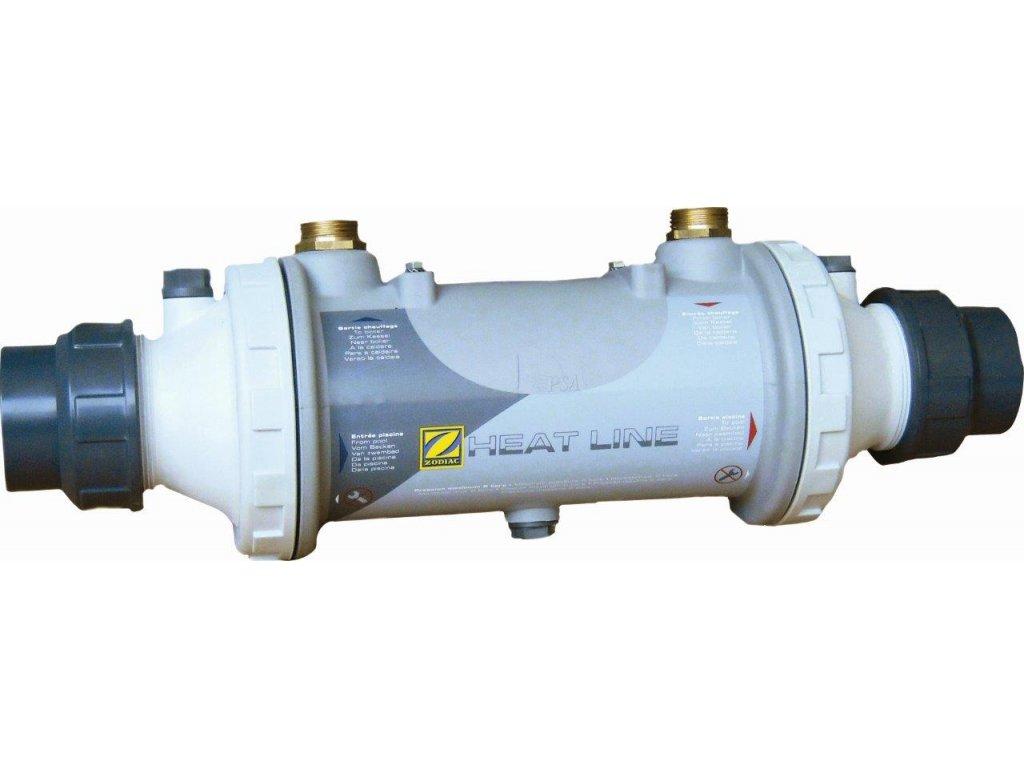 Tepelný výměník ZODIAC HEAT LINE; Titan 40 kW, zpětný ventil součástí