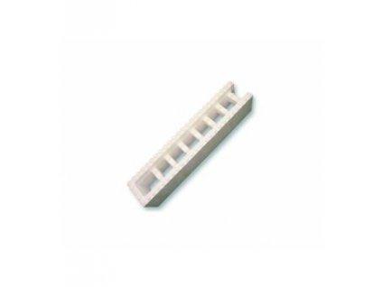 Polystyrenová tvárnice 1200x250x250mm - koncová