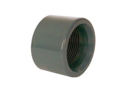 """PVC tvarovka - Redukce krátká vkládací se závitem 20 x 3/8"""" int."""