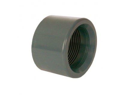"""PVC tvarovka - Redukce krátká vkládací se závitem 25 x 1/2"""" int."""