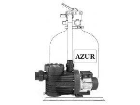 Filtrační zařízení Azur KIT 380 6m3hod 1 BE propojovací potrubí