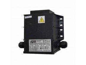 Bezpečnostní transformátor 50 W, zalitý 230 V na 12 V