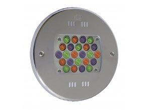 Podvodní LED světlo 24 x 3 W (světlo barevné RGB)
