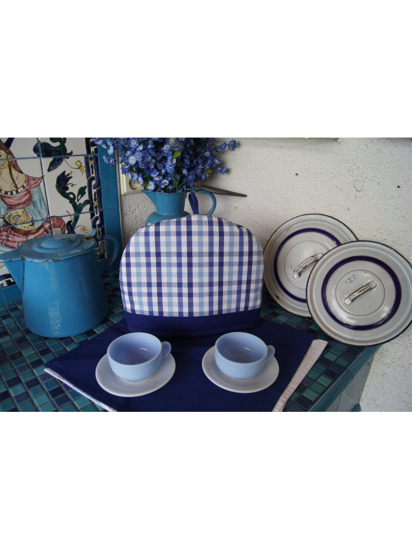 Poklop Majka K1 s modrým lemem  Poklop na konvici | Kostka