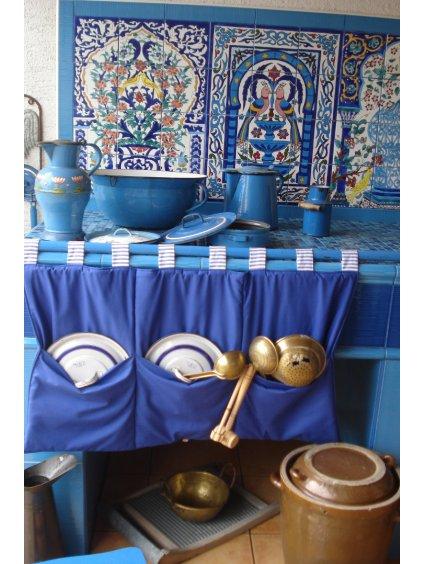 Modrá royal  Kapsář